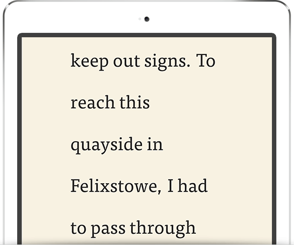 bad ereader typography